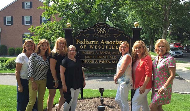 The Talented team at Pediatric Associates of Westfield, NJ
